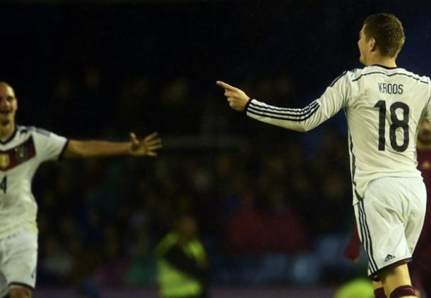 Toni Kroos: Kalahkan Spanyol Lengkapi Tahun Gemilang Jerman
