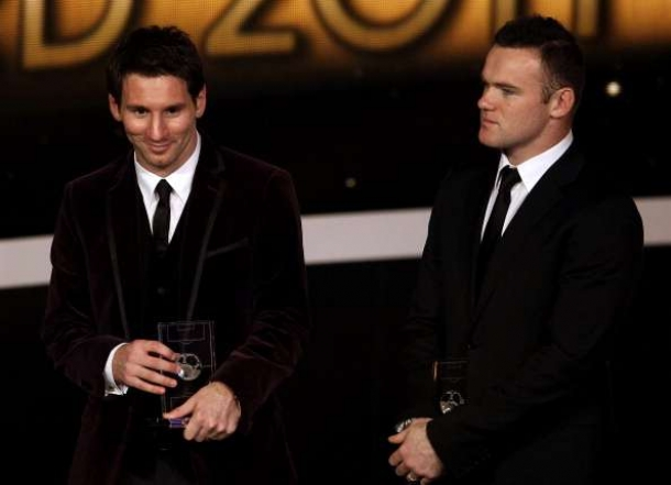 Lionel Messi Menilai Kualitas Wayne Rooney Luar Biasa
