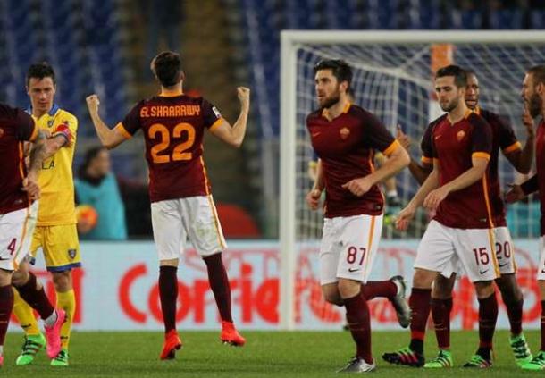 AS Roma 3-1 Frosinone