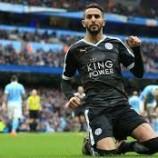 Teken Kontrak Anyar, Mahrez Buat Barcelona Serta Chelsea Harus Gigit Jari