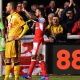 Walcott Bawa Arsenal Melaju Ke Perempat Final Piala FA