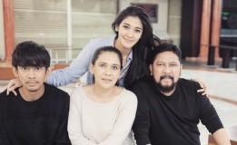 Naysilla Mirdad Rindukan Keakraban Keluarga Besarnya