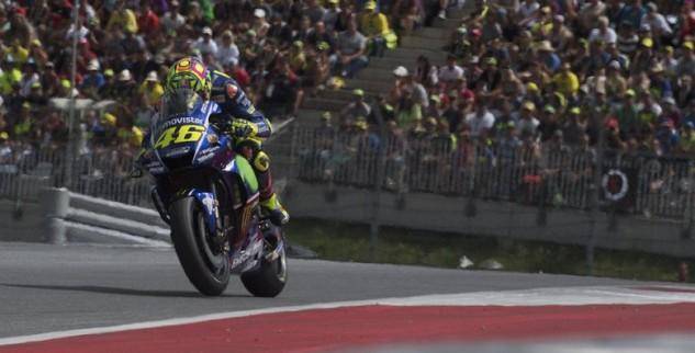 Rossi Terkendala Masalah Ban Di GP Austria