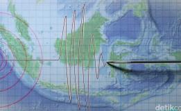 Gempa 5,4 SR Guncang Lampung Hari Ini