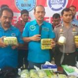 Peredaran 30 Kg Ganja Dari Malaysia Berhasil Di Gagalkan BNN