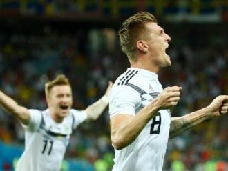 Gol Toni Kroos Di Periode Injury Time, Membawa Jerman Menang Atas Swedia