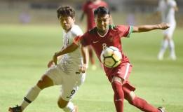 Dalam Pertandingan Uji Coba, Timnas Indonesia Takluk Atas Korea Selatan