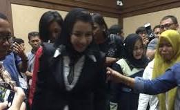 Bupati Kukar Nonaktif Rita Widyasari Bakal Melakukan Sidang Vonis