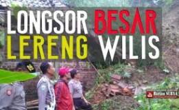 Teror Beberapa Pemukiman Yang Berada Di Bawah Lereng Gunung