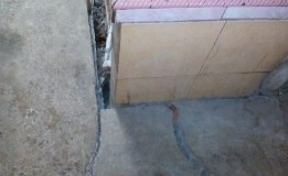 Warga Ponorogo Khawatir dengan Kemunculan Retakan Besar di Rumahnya
