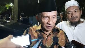 Amien Rais Memandang Tidak Ada Yang Menonjol Dari Calon Wakil Presiden Maruf Amin