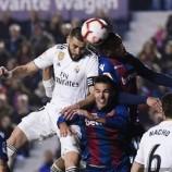 Hasil Laga Real Madrid vs Levante: Los Blancos Menang 2-1