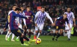 Liga Spanyol Ke-24 Barca Menang Tipis